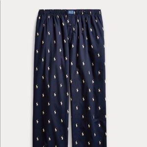 Polo Ralph Lauren Allover Pony Pajama Pant
